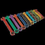 Sealey S01075 12Pc Multi-Coloured Combination Ratchet Spanner Set