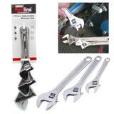 Draper 67642 RL-AW3 Redline 3 Piece Adjustable Wrench Set
