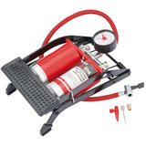 Draper 68473 Redline Double Cylinder Foot Pump Car Bike Tyre Pump