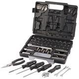 "Draper 68503 RL-TK105 Redline 105 Piece 1/4"", 3/8"" Sq. Dr. Tool Kit"