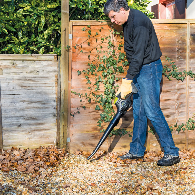 Draper lightweight cordless leaf blower 18v dc without for Lightweight garden tools