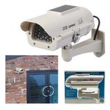 Silverline 614458 Solar Powered Dummy CCTV Camera with LED