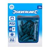 Silverline 443612 Pozidriv Cr-V 6150 Screwdriver Bits 30pk