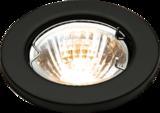 Knightsbridge L02BK1 Low Voltage Downlight 50W - Matt Black Bridge