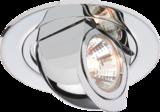 Knightsbridge SWS01C Swivel & Scoop Light Fitting - Chrome