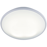 Knightsbridge TP38W2DHF IP20 38W 2D Bulkhead Opal Diffuser & White Base - HF