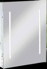 Knightsbridge RCTM2LED IP44 LED Rectangular Mirror with Dual Shaver Socket