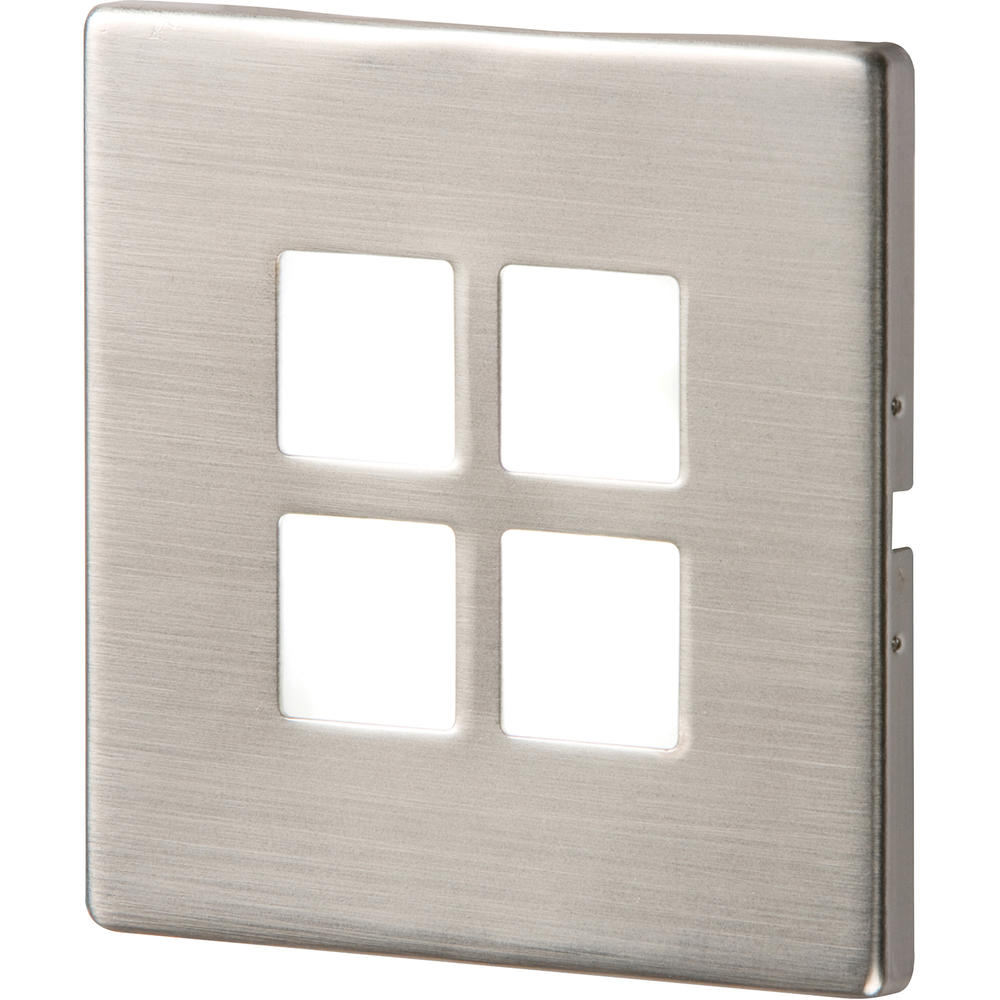 Knightsbridge NH025W S/S Recessed LED Wall Light - Single White (1 x 1W LEDs)