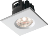 Knightsbridge VFRSBEZW Square White Bezel For VFRCOB Downlights