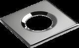 Knightsbridge VFRSBEZCH Square Chrome Bezel For VFRCOB Downlights