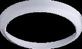 Knightsbridge BF14BWHT White Bezel For BF LED Bulkhead 14W 300mm
