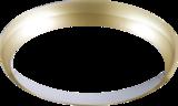 Knightsbridge BF14BBR Matt Brass Bezel For BF LED Bulkhead 14W 300mm