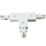 Knightsbridge TRKTW 230V Track T Connector White