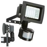 Knightsbridge FLS15PBK IP44 230V 15W 6000K PIR LED Floodlight Black