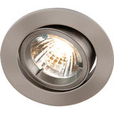 Knightsbridge RD2CBR Tilt B/Chrome Twist-Lock Downlight GU10/MR16
