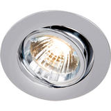 Knightsbridge RD2C Tilt Chrome Twist-Lock Downlight GU10/MR16