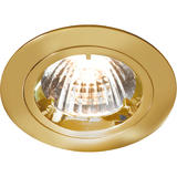 Knightsbridge RD1B Fixed Brass Twist-Lock Downlight GU10/MR16