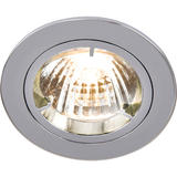Knightsbridge RD1C Fixed Chrome Twist-Lock Downlight GU10/MR16