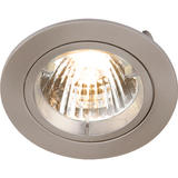 Knightsbridge RD1CBR Fixed B/Chrome Twist-Lock Downlight GU10/MR16