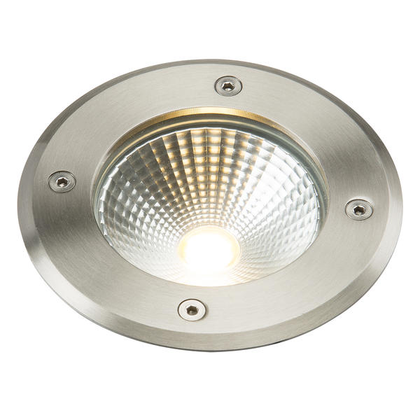 IP656W 19011521 MLLEDGL6 Knightsbridge Ledgl6 230v Ip65 6w Led Recessed Ground Light