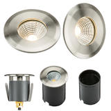 Knightsbridge LEDGL5 230V IP65 5W  LED Recessed Ground Light