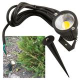 Knightsbridge LED Garden Wall/Spike Spotlight Outdoor Feature Lighting 230V IP54