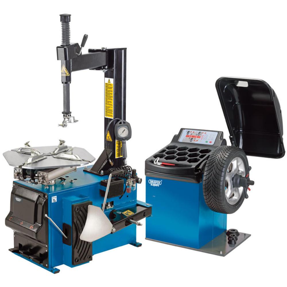 Draper 16235 *TC100/WB100 Tyre Changer and Wheel Balancer Kit