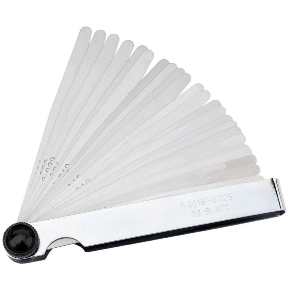 Draper 51713 26FB 26 Blade Imperial Feeler Gauge Set