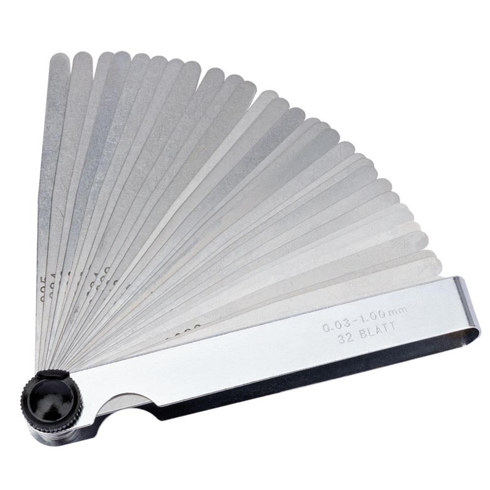 Draper 51720 4620B 32 Blade Combination Feeler Gauge Set