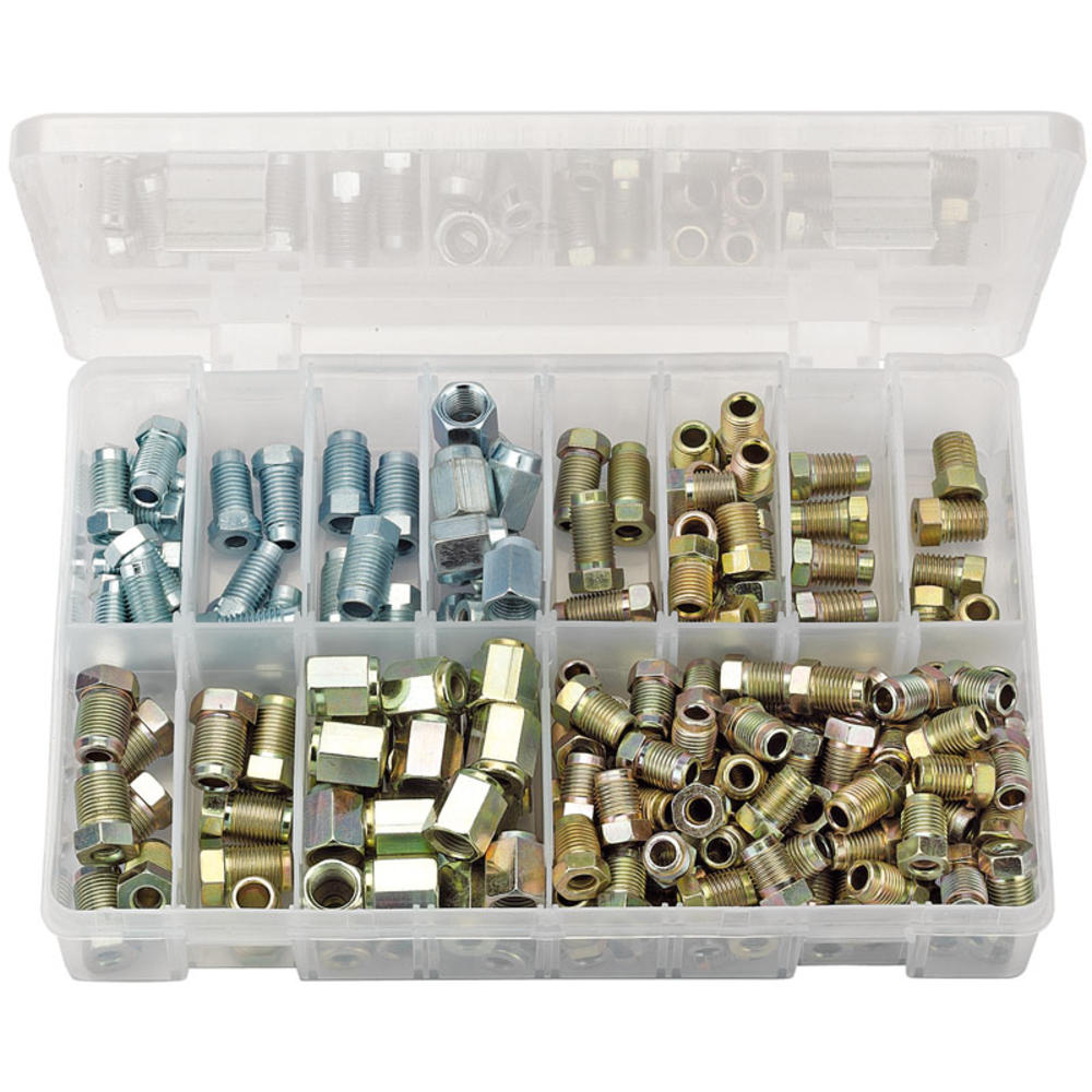 Draper 54367 BPF205 Expert Brake Pipe Fitting Kit (205 Piece)