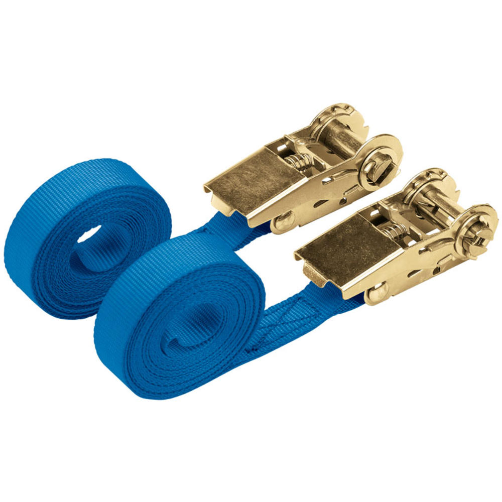 Draper 60966 RTDS250B2/B 4.5M 250Kg Ratchet Tie Down Strap (2 Pack)
