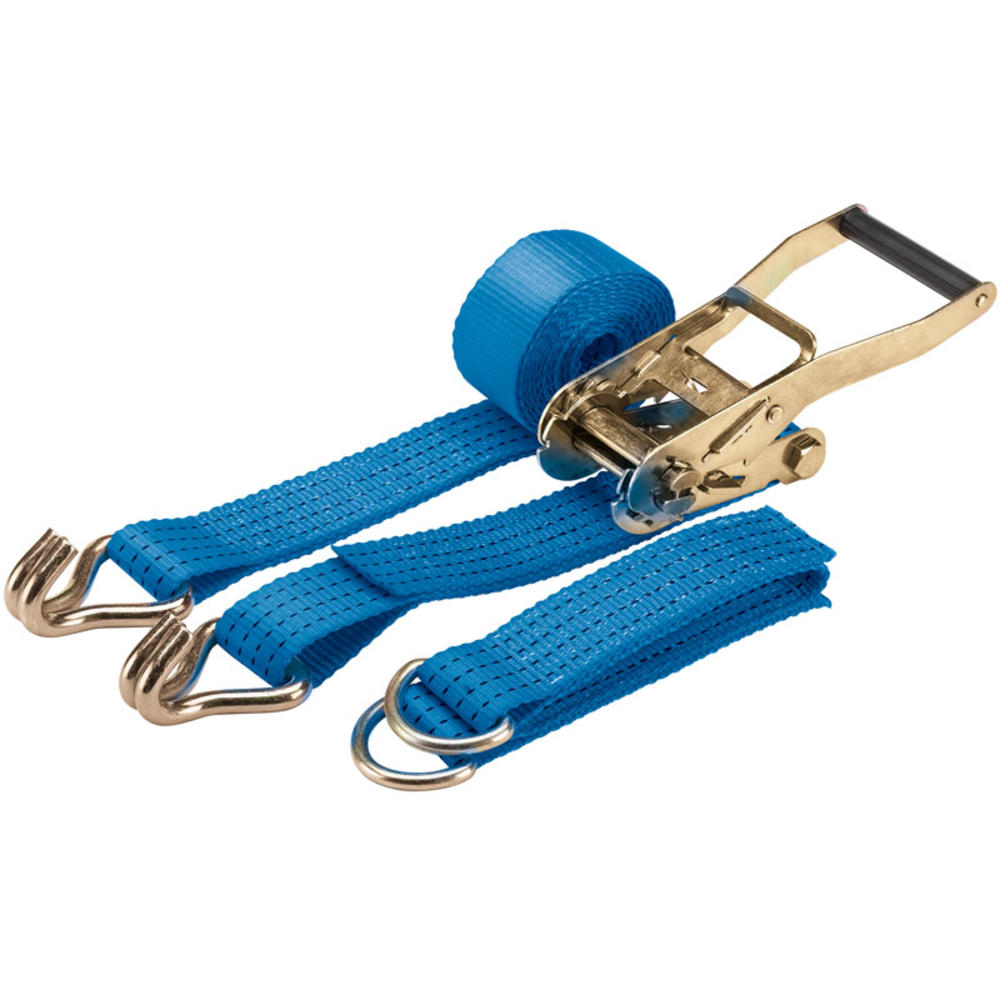 Draper 60970 CRTDS2250/B 3M 2250Kg Car Ratchet Tie Down Strap