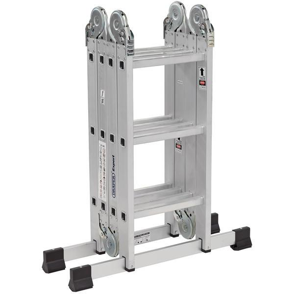 Draper 17110 Multi-Purpose Aluminium Ladder Thumbnail 1