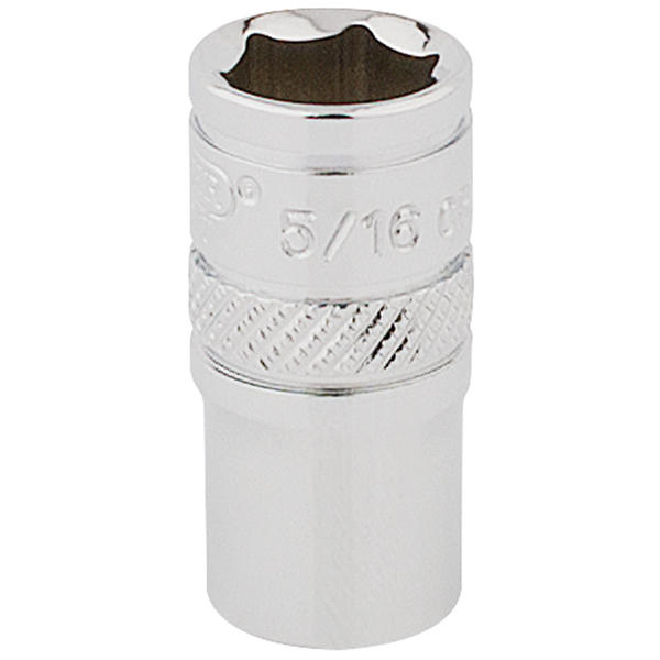 "Draper 48670 B-AF Expert 1/4"" Square Drive Hi-Torq 6 Point Socket (5/16"")"