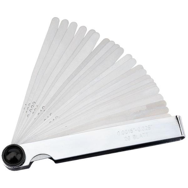 Draper 51713 26FB 26 Blade Imperial Feeler Gauge Set Thumbnail 1