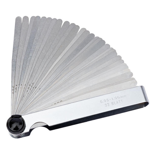 Draper 51720 4620B 32 Blade Combination Feeler Gauge Set Thumbnail 1