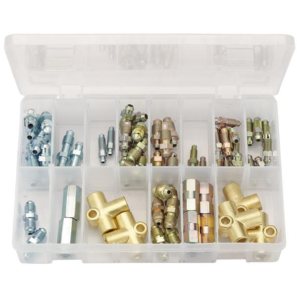 Draper 54366 BPC67 Expert Brake Pipe Connector Kit (67 Piece) Thumbnail 1