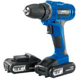 Draper 14600 CD18LISF Storm Force Cordless Drill with Two Li-ion Batteries (18V)