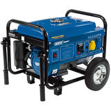 Draper 16066 PG253W Petrol Generator with Wheels (2.2kVA/2.0kW)