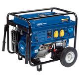 Draper 16143 PG68W Expert Petrol Generator with Wheels (6.5kVA/6.0kW)