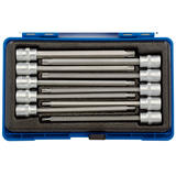 "Draper 16311 Expert 3/8"" Sq. Dr. 150mm Long Tx Star Socket Bit Set (10 Pc)"