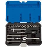 """Draper 16464 B40AMN/B Expert 1/4"""" Sq. Dr. MM/AF Combined Socket Set (40 Pc)"""