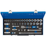 "Draper 16472 D40M/MC/SG Expert 3/8"" Sq. Dr. Combined MM/AF Socket Set 40 Pc"