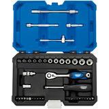 "Draper 16479 B43MDSN/B Expert 1/4"" Sq. Dr. Metric Multi-Drive Socket Set (43 Pc)"