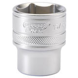 "Draper 16633 H-AF/MS Expert 1/2"" Sq. Dr. 6 Point Imperial Socket (15/16"")"