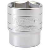 "Draper 16636 H-AF/MS Expert 1/2"" Sq. Dr. 6 Point Imperial Socket (1.1/8"")"