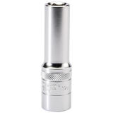 "Draper 16643 Expert 1/2"" Sq. Dr. 6 Point Metric Deep Socket (12mm)"