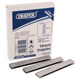Draper 17555  38mm Staples (2500)
