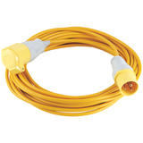 Draper 17570 110V 14M x 1.5mm Extension Cable with 16A Plug and Socket