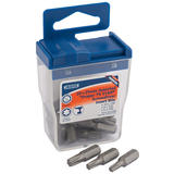 Draper 27696 Tx-Star 25mm Long Insert Bits (20 x Assorted)